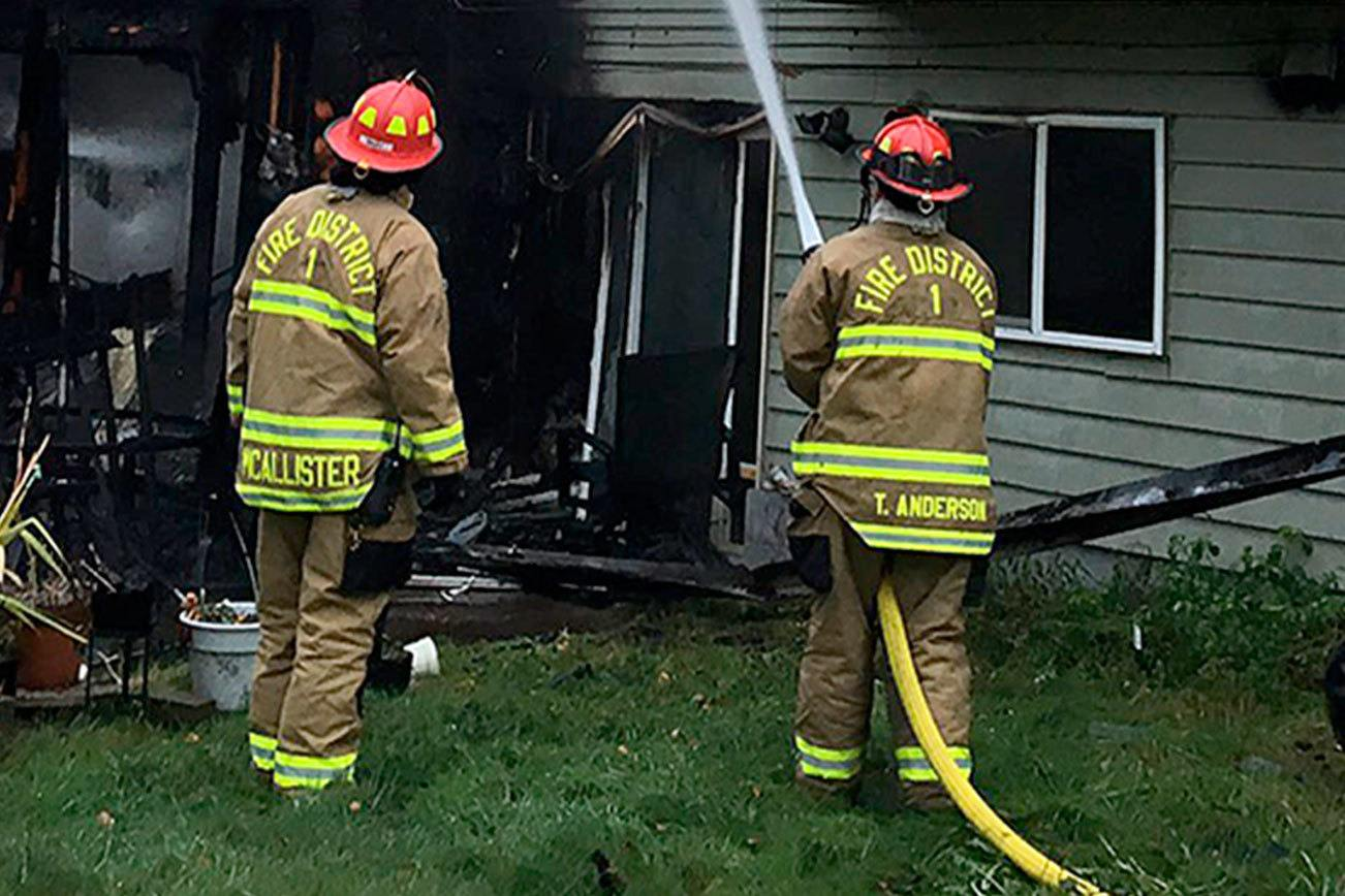 No injuries in house fire in Edmonds on Saturday morning