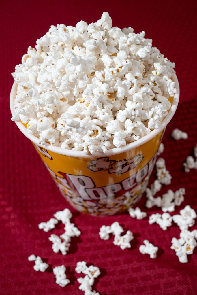 Use coconut oil to make various kinds of popcorn. (Andy Bronson / The Herald)