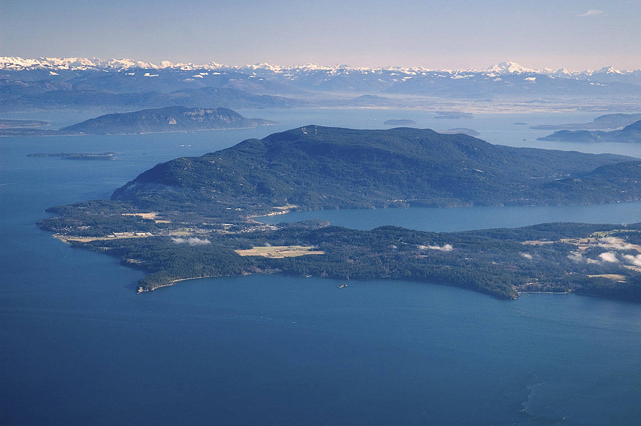Orcas Island in the San Juans (US Environmental Protection Agency)