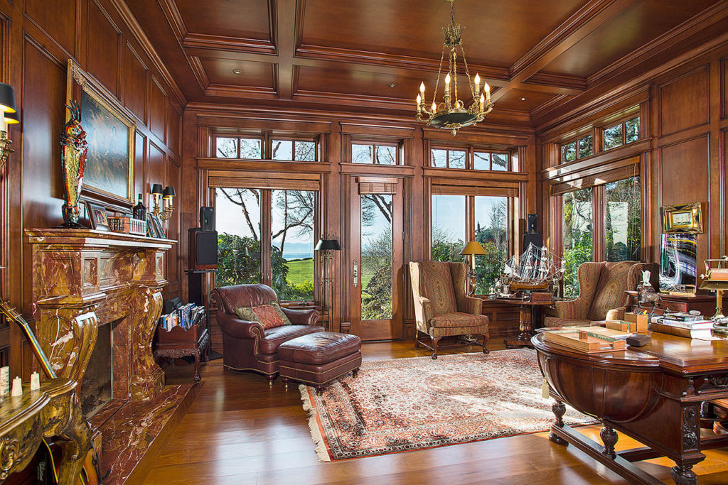 The 11,663-square-foot home was built in 1992 and extensively renovated in 2003 and 2006 and features four bedrooms, 5.25 baths and five fireplaces. (Contributed photo)
