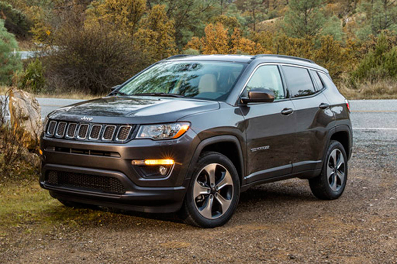 Black Jeep Cherokee >> Jeep Compass is a compact crossover, doubles as family car | HeraldNet.com