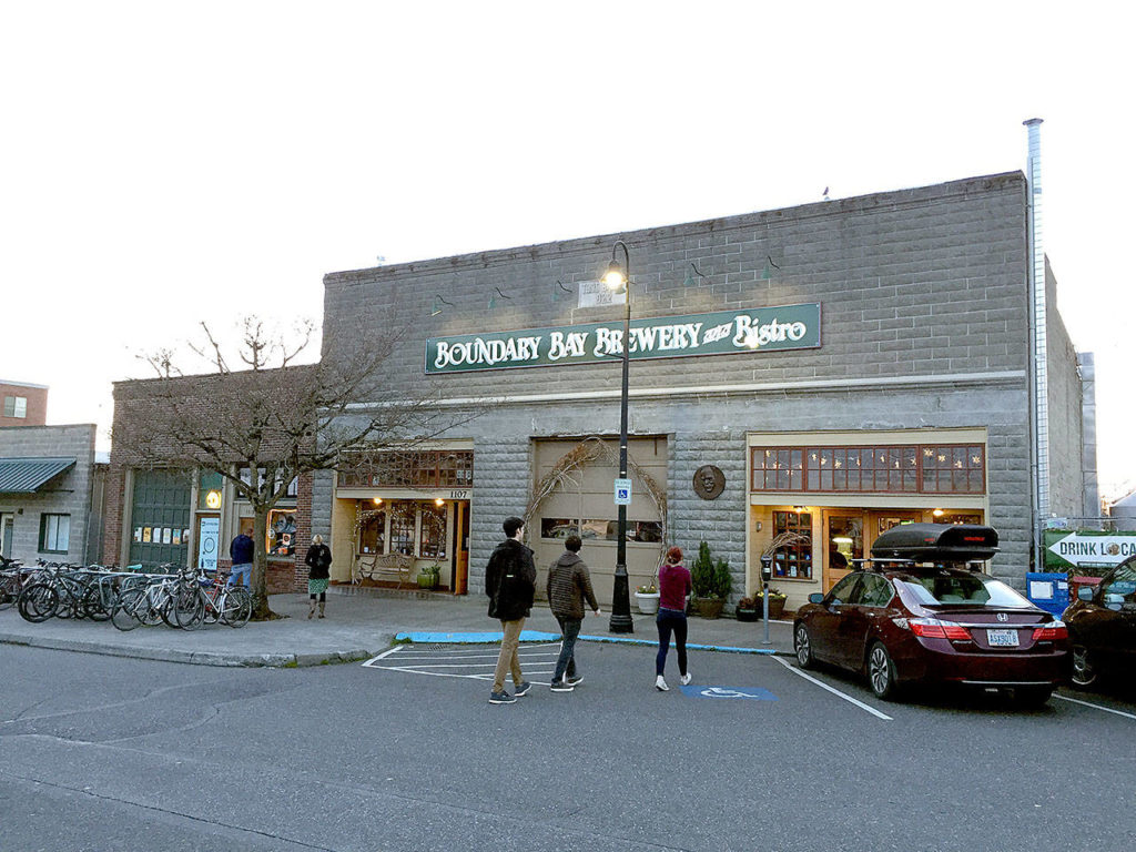 Boundary Bay Brewery, the oldest brewery in Bellingham, is just blocks from the north trailhead of the South Bay Trail. (Aaron Swaney photo)