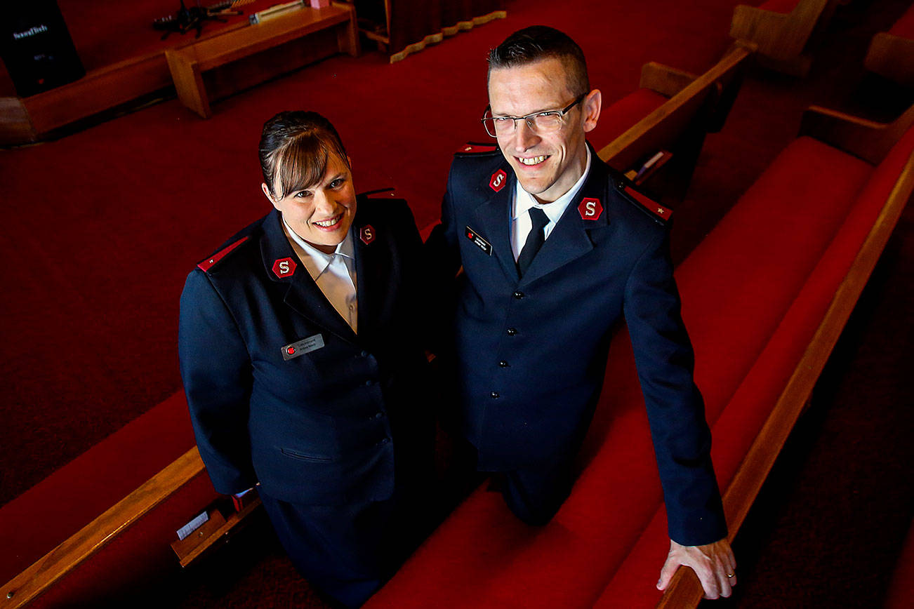Husband and wife oversee operations at Everett Salvation Army