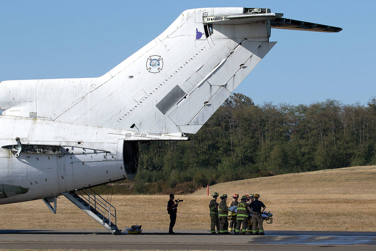 With air service coming, first responders plan for a crash