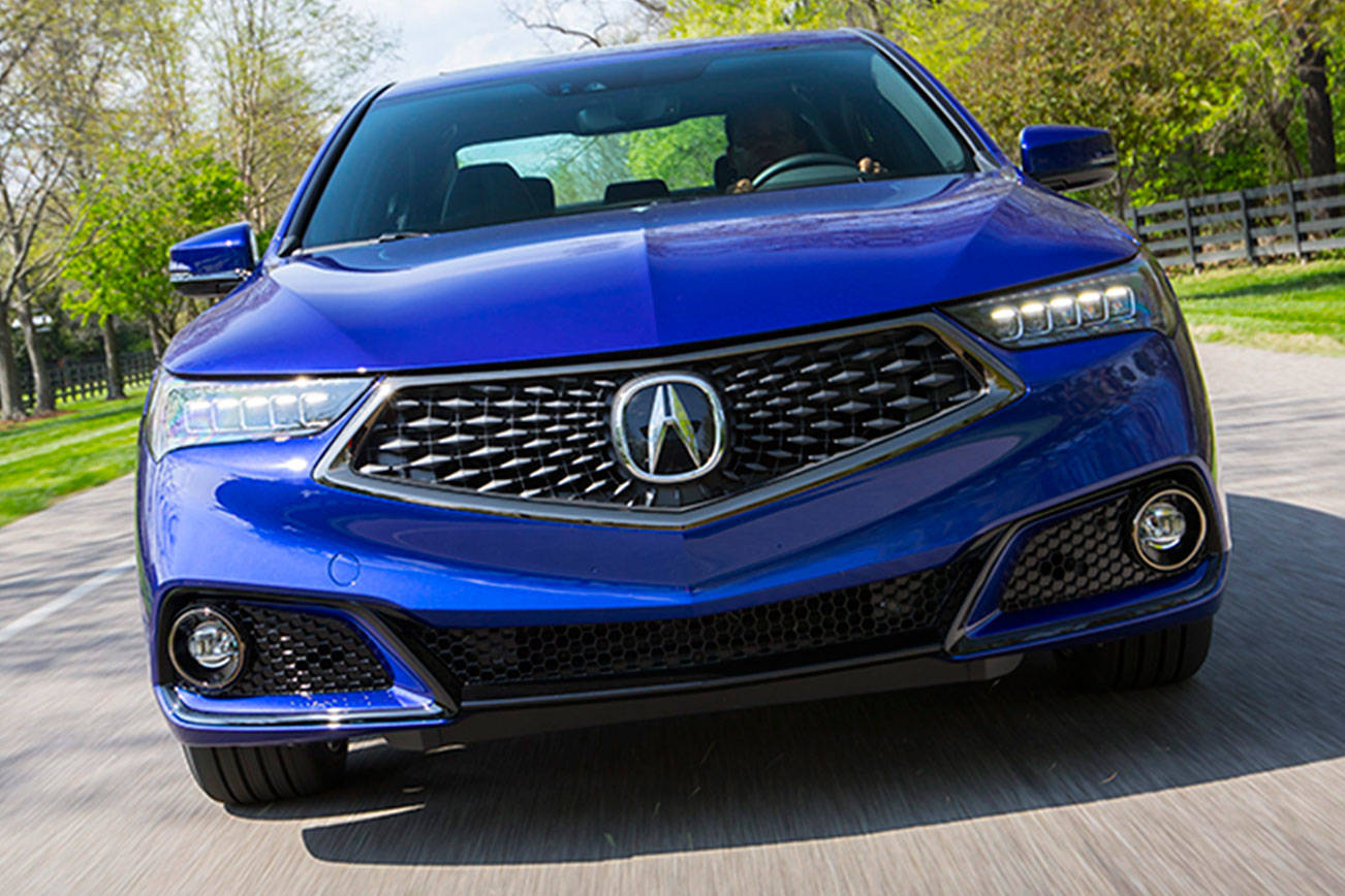 Acura adds A-Spec model to superb handling TLX in 2018