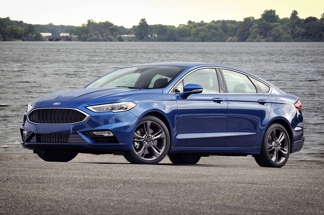 All Wheel Drive Is Standard On The 2107 Ford Fusion Sport Car