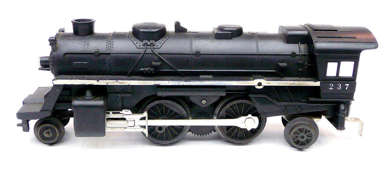 The Lionel electric-train engine that emitted smoke. (Chuck Taylor)