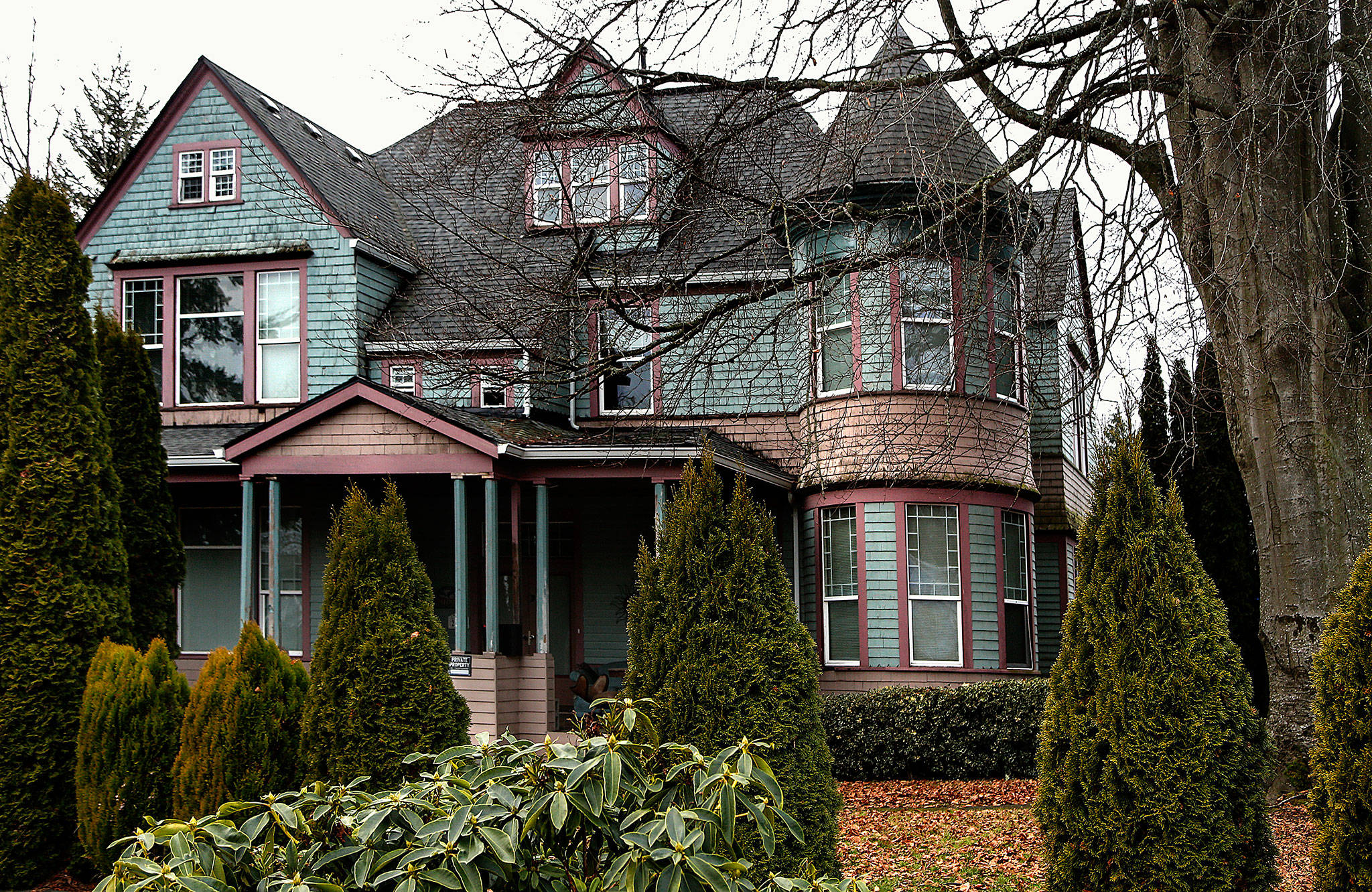 The McManus Mansion, built in 1892, still stands at 2528 East Grand Ave. (Dan Bates / The Herald)