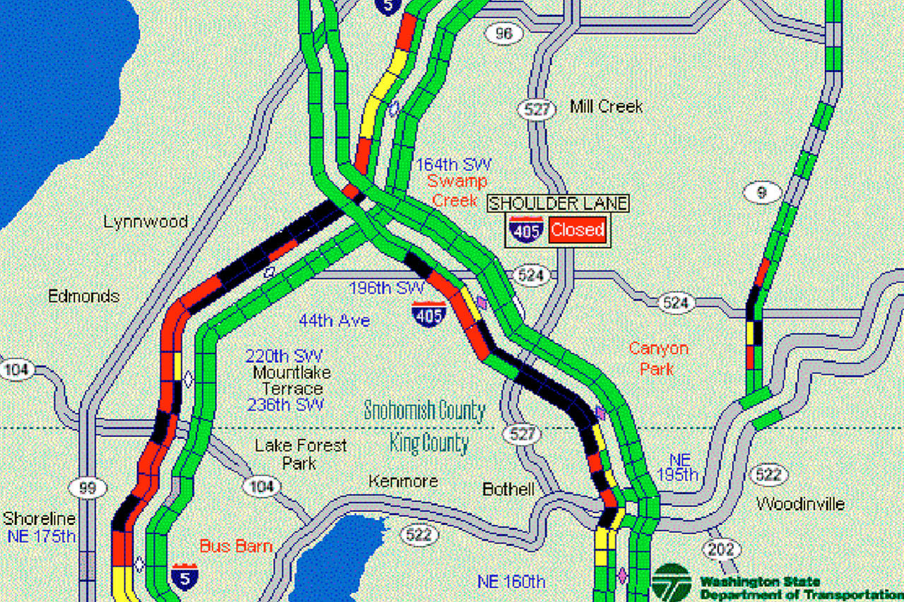 A 22 Traffic Increase Means A 90 Minute Drive To Seattle