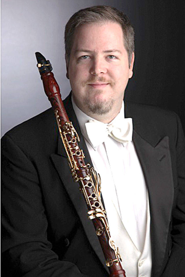 Ben Lulich, on clarinet, is the featured soloist in Cascade Symphony Orchestra's Jan. 15 concert.
