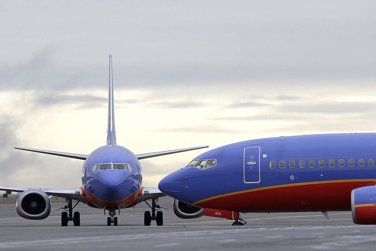 Southwest to join Alaska and United serving Paine Field