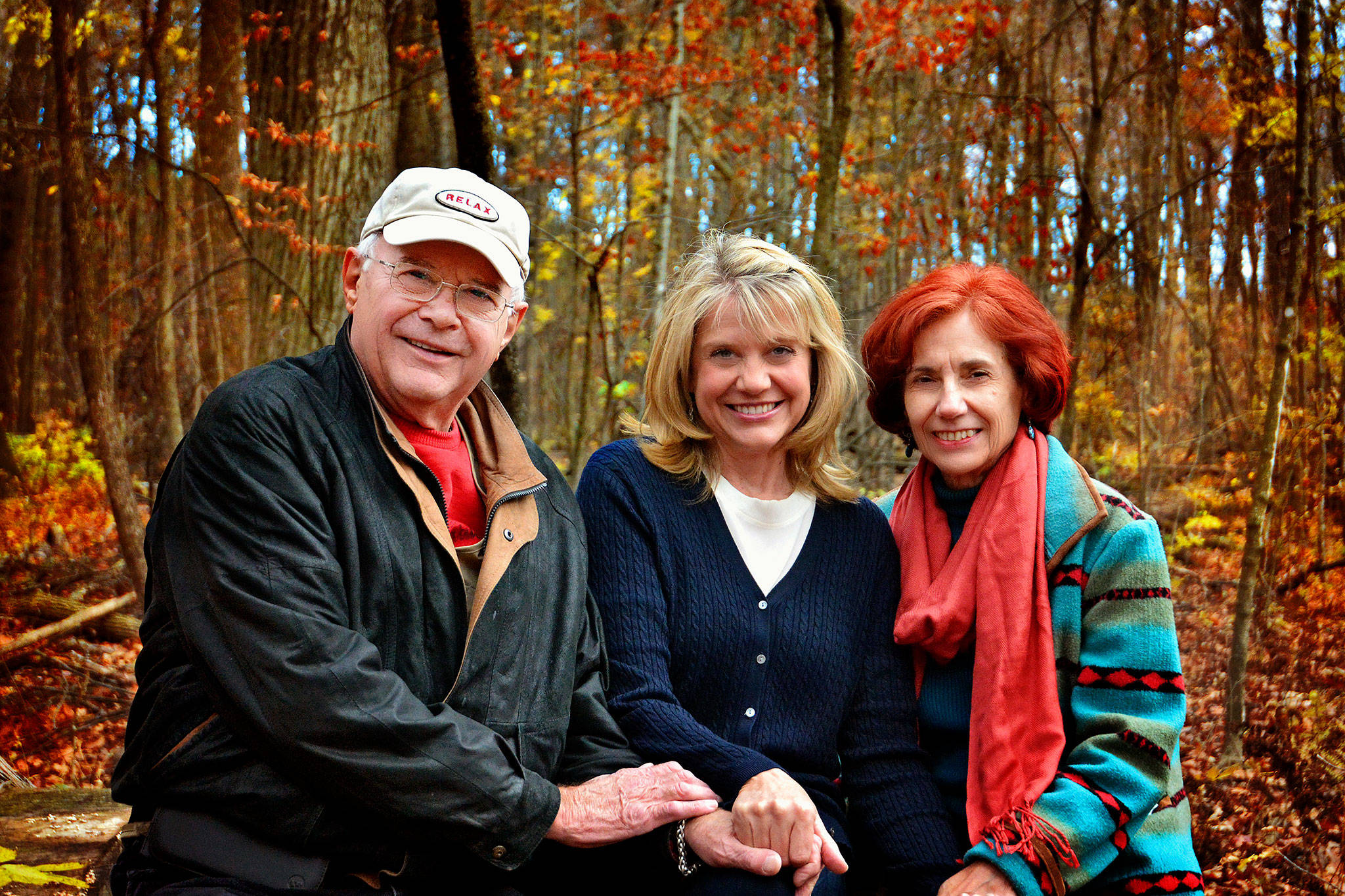 Dennis and Karen Vinar with their daughter, Jean Voxland (center). The couple gave her up for adoption as a newborn when they were teenagers in 1961. Decades later, in 2015, the former high school sweethearts were married in Everett. They have written a book about finding and reuniting with their daughter. (Courtesy Karen and Dennis Vinar)