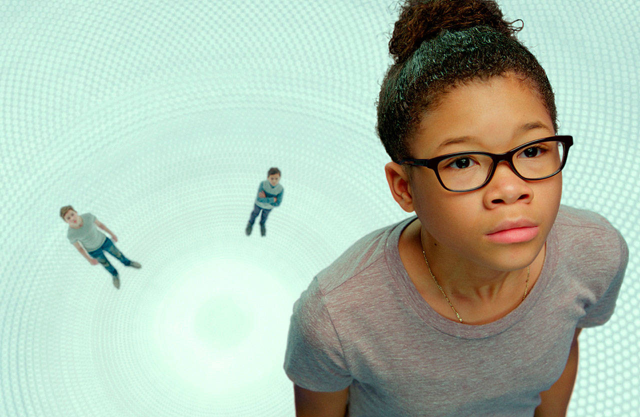 "Storm Reid plays Meg Murry in ""A Wrinkle in Time."" (Walt Disney Pictures)"