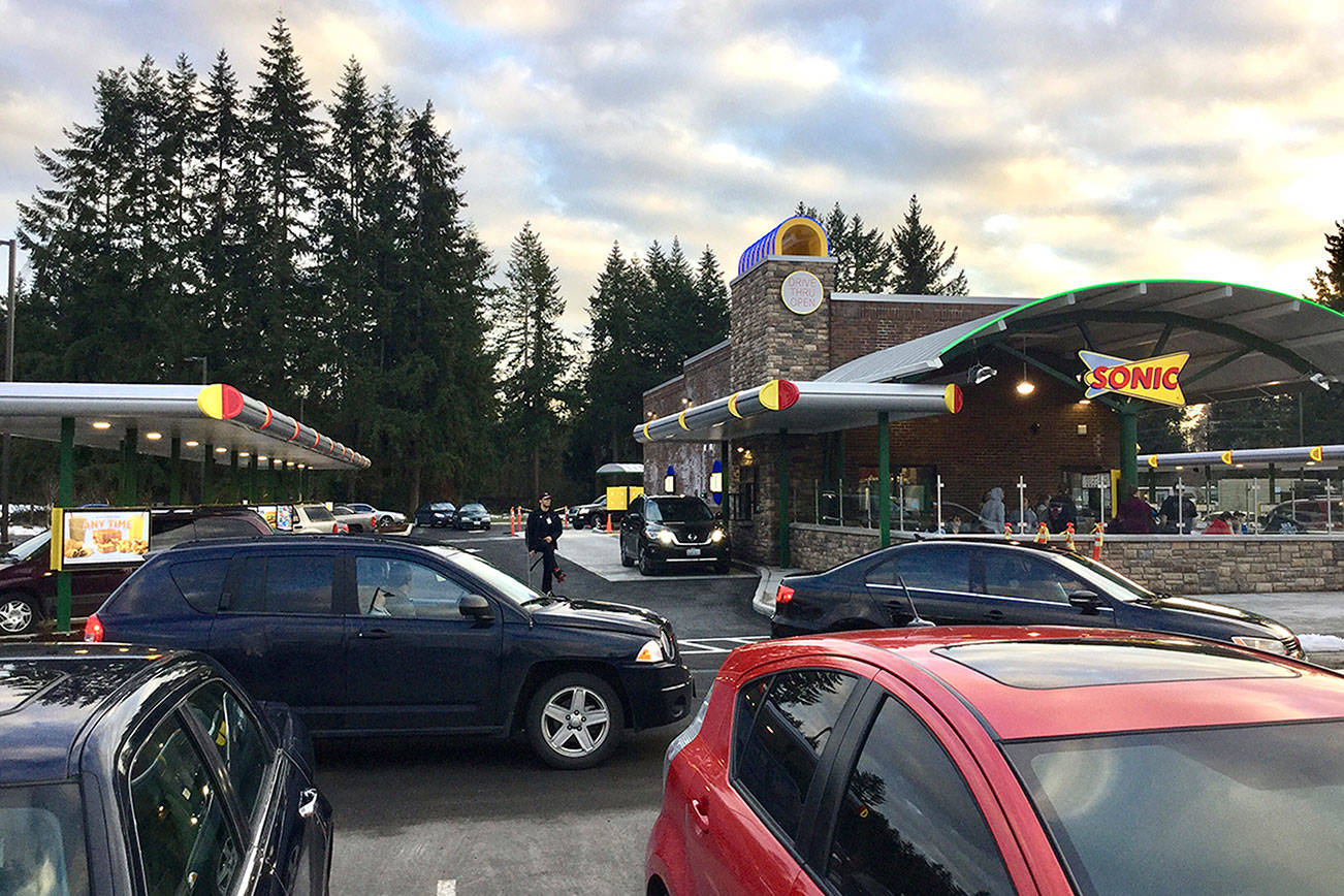 Sonic opens in Marysville, making its Snohomish County debut