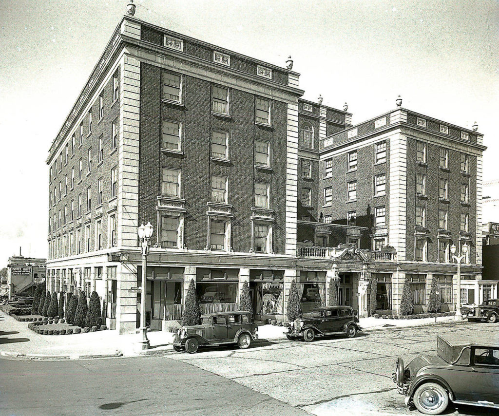 This 1936 shows the second Monte Cristo Hotel that still stands at 1507 Wall St. It is listed on the National Register of Historic Places. (Photo courtesy of Everett Public Library)