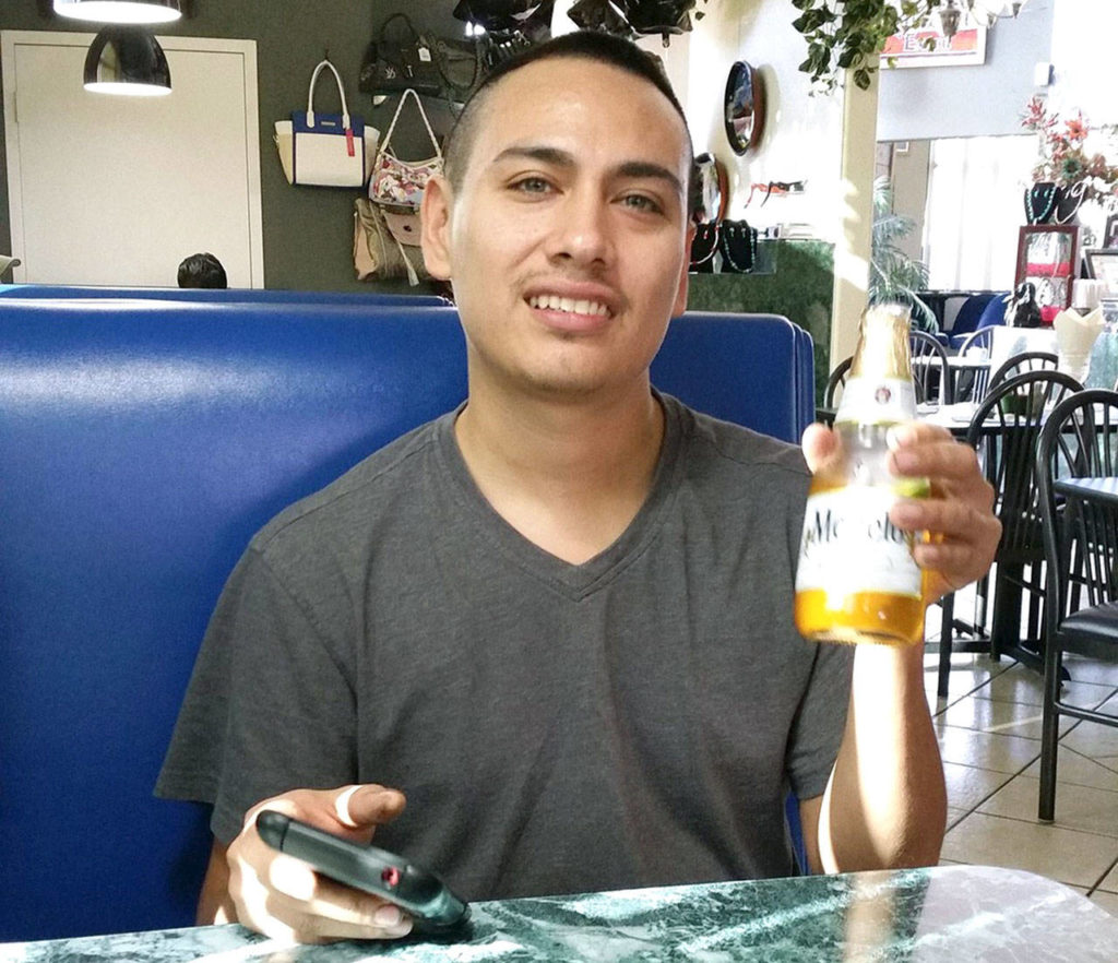 Another photo of Jacob Gonzales, 33, without facial hair. He is suspected of stealing his girlfriend's car two weeks before she was found murdered on Camano Island. He was still at large this week, with a nationwide $1 million warrant out for his arrest.