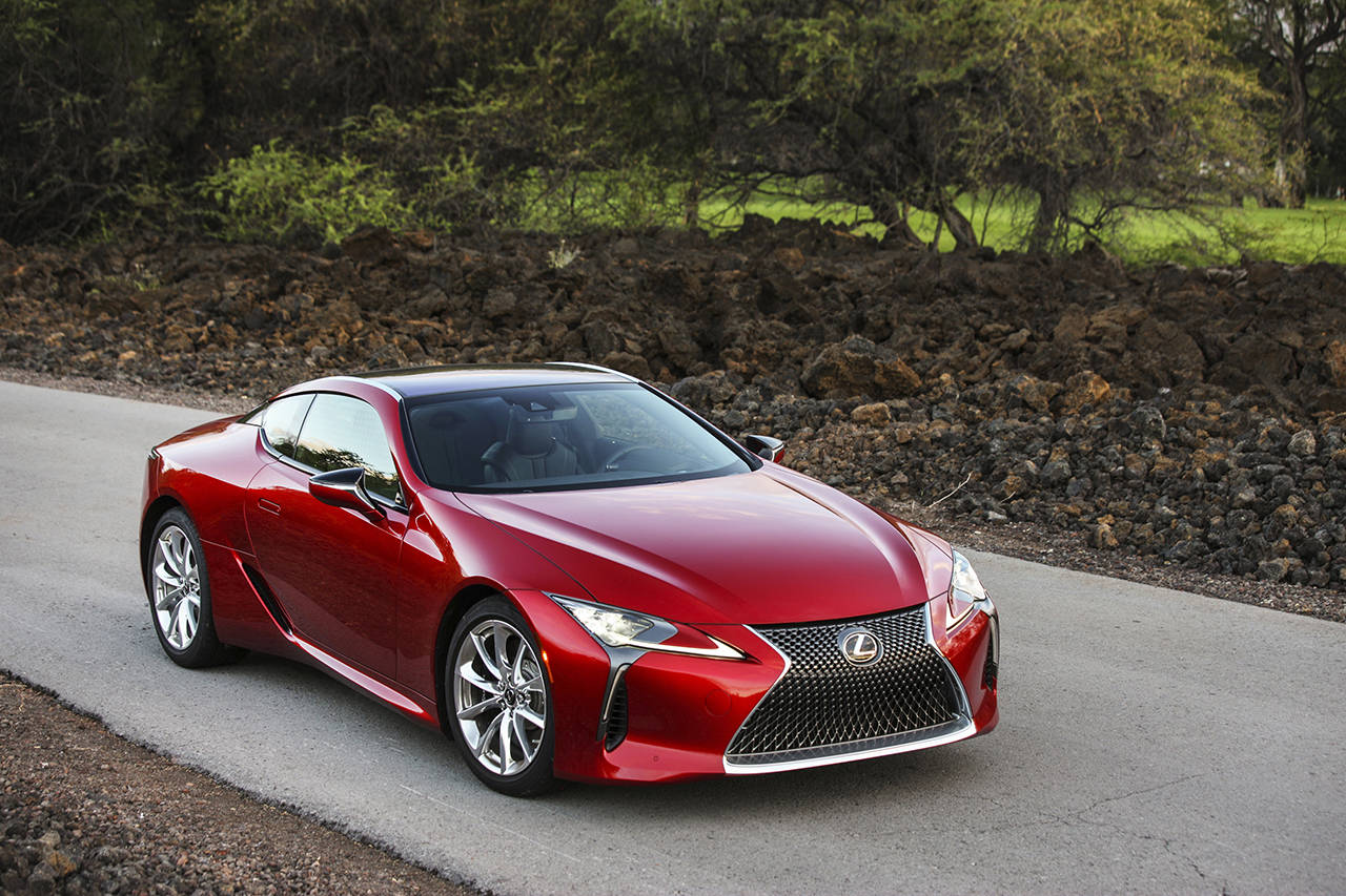 Lc 500 Puts Lexus Back In The High Performance Coupe Game