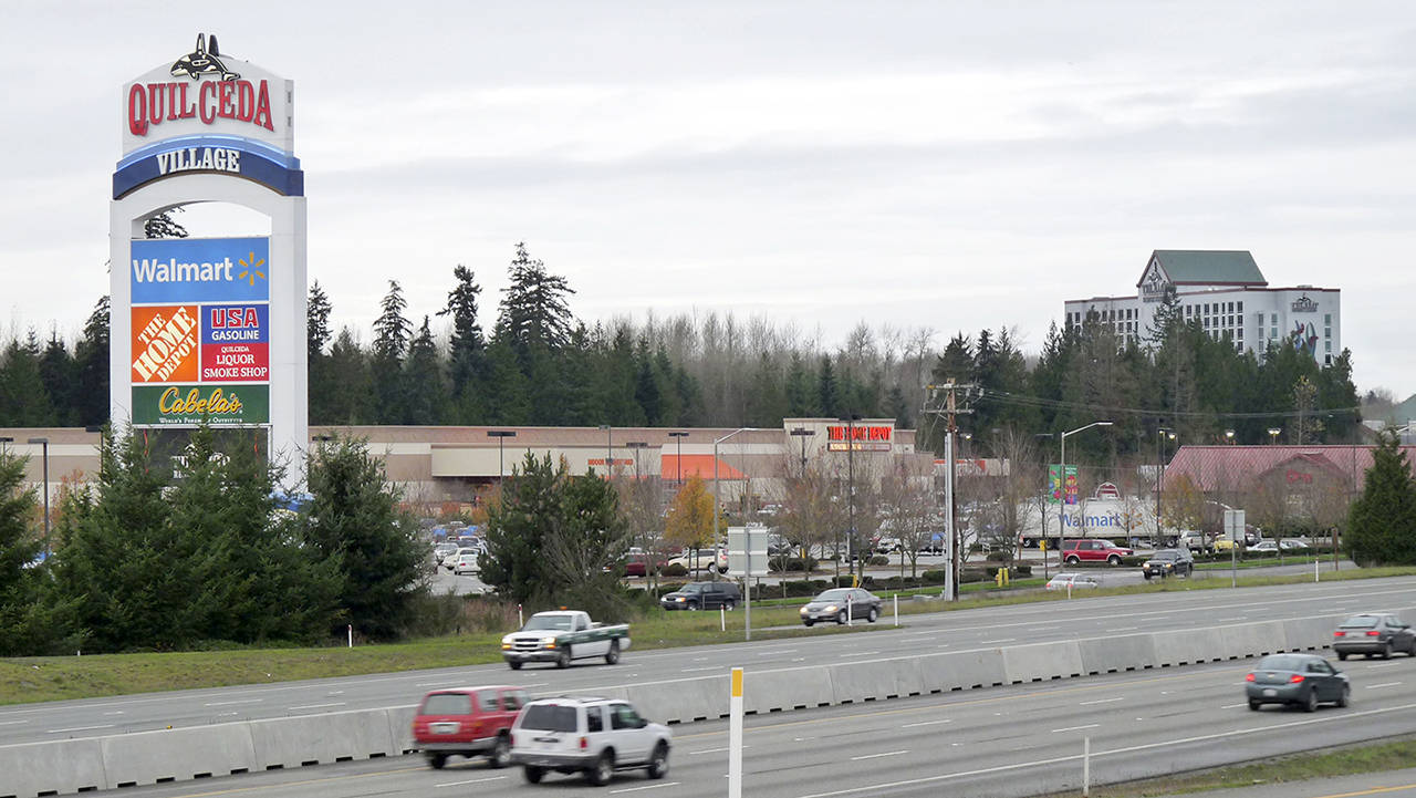 This 2012 photo shows Quil Ceda Village on the Tulalip Reservation. (Herald Business Journal file)