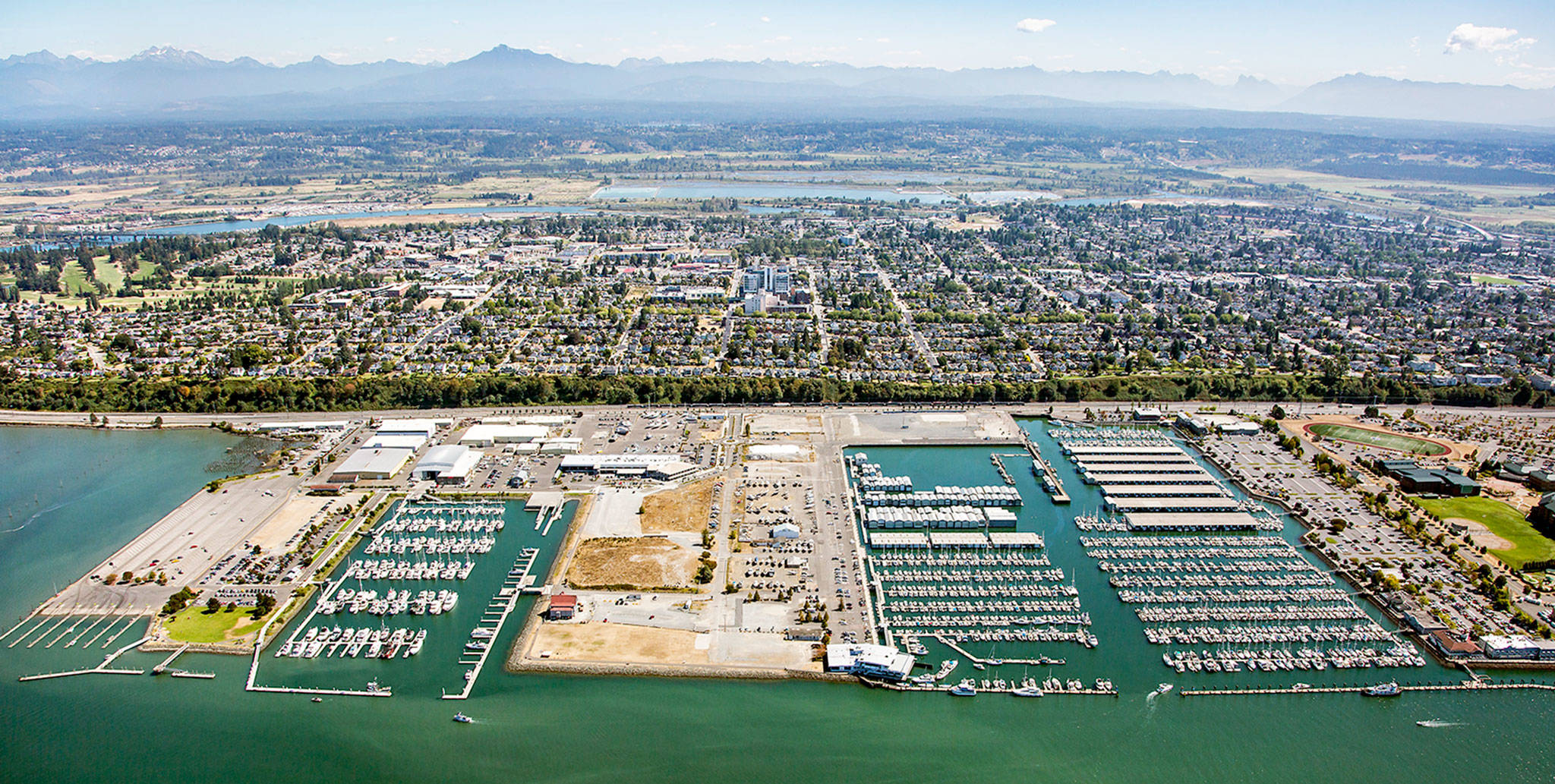 The Port of Everett marina is the biggest public marina on the West Coast. (Port of Everett)