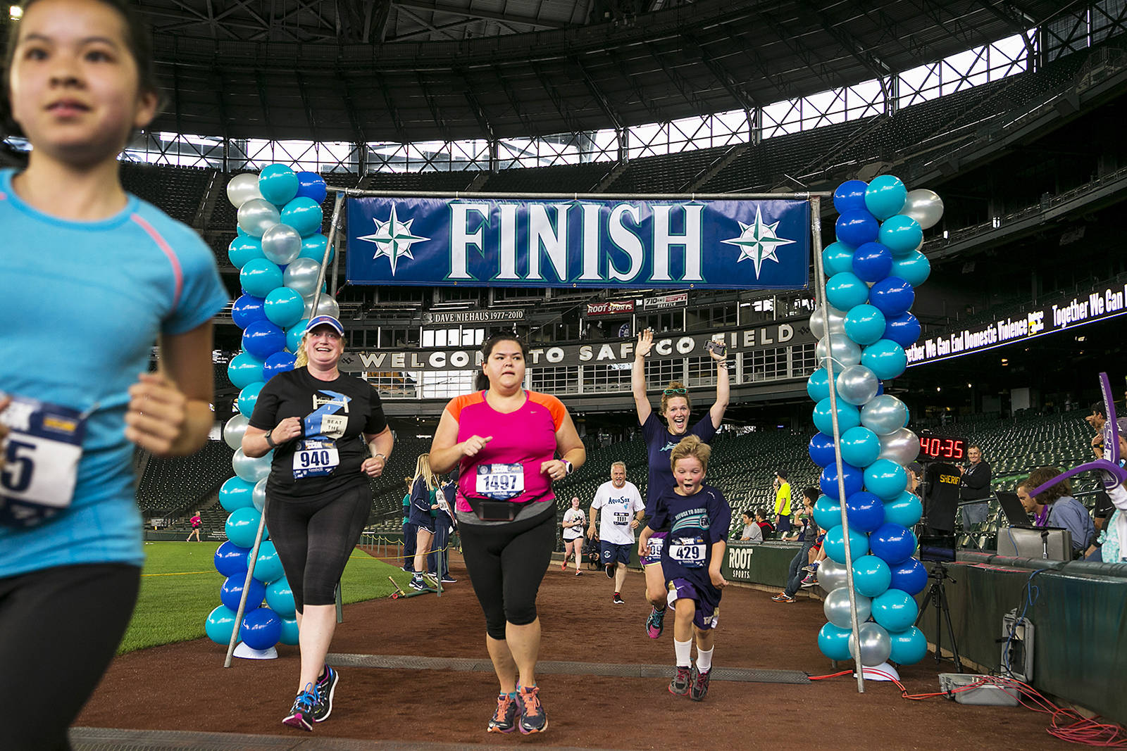 Domestic violence IS preventable: July 21's Refuse To Abuse 5k is a unique run/walk through every level of Safeco Field, from the players' tunnel to the final lap around the field.