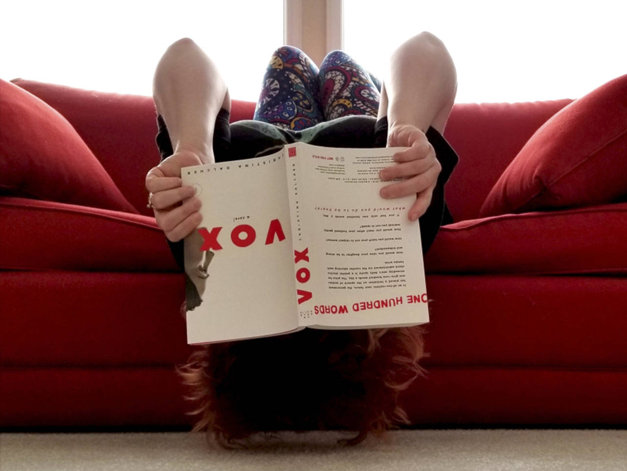 """Dystopian novels are not known for happiness and wit, but the discerning reader can find both in """"Vox"""" by Christina Dalcher."""