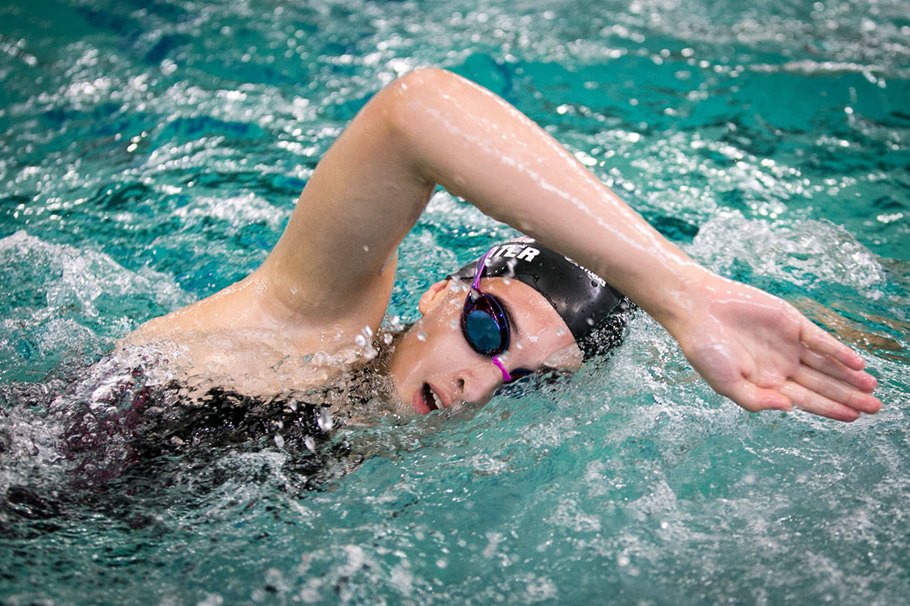 5 Things to Know with Cascade girls swimming's Nadia Prater