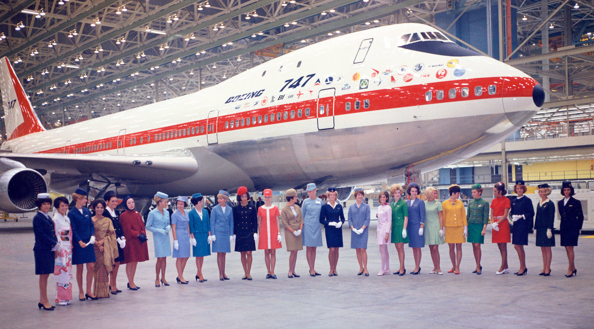 50 years ago, they rolled it out: the first Boeing 747