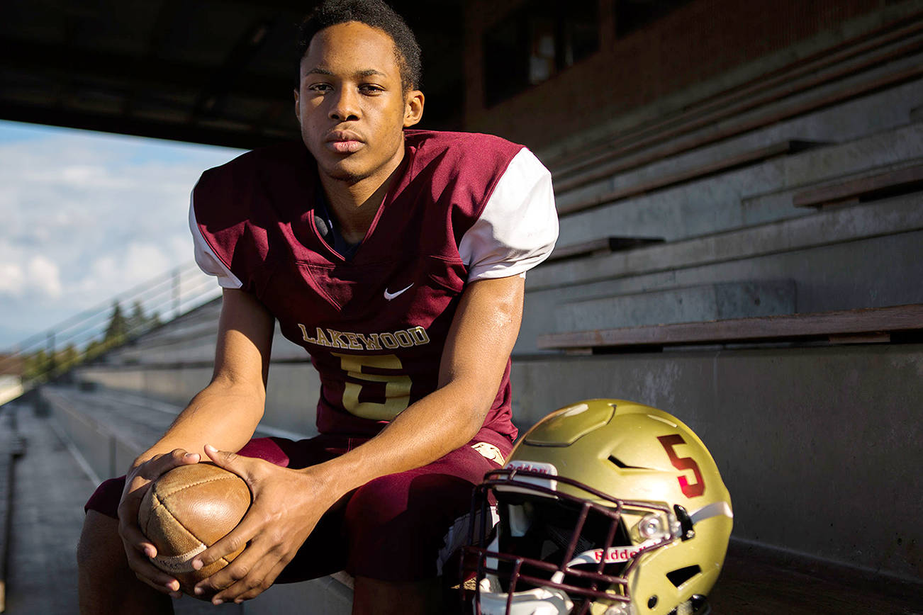 First-year Lakewood receiver catching on
