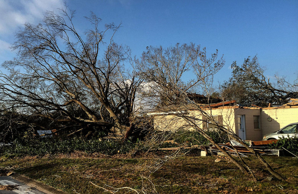 Damage in Panama City, Florida, is widespread in the aftermath of Hurricane Michael, which made landfall there Oct. 10. (Will McMahan)