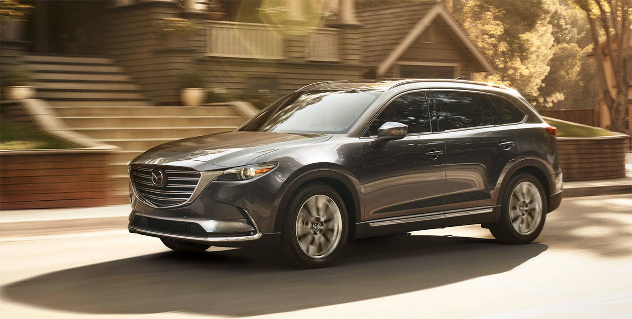 The 2019 Mazda CX-9 has a turbocharged four-cylinder engine producing 227 horsepower and 310 pound-feet of torque. (Manufacturer photo)