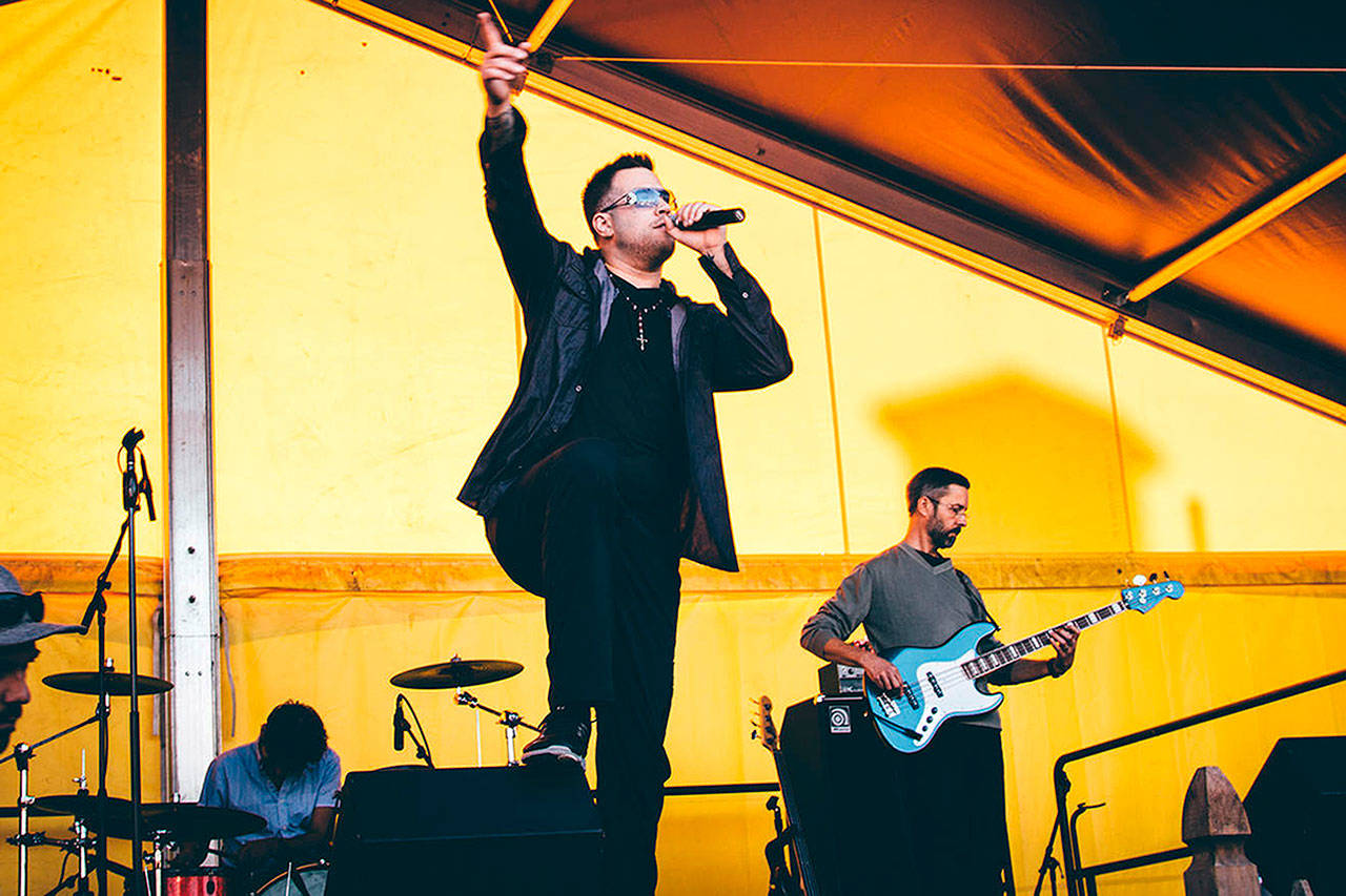 U253, a U2 tribute band from University Place, is playing Dec. 29 at the Historic Everett Theatre. ((Max MacDonald))