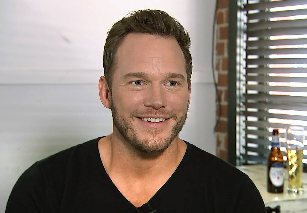 Chris Pratt during an interview last August at the Fellow Bar in Los Angeles, where he met with disabled athletes as part of the nonprofit group Achilles International. He announced his engagement to Katherine Schwarzenegger on Instagram on Jan. 13. (AP Photo/Jeff Turner)