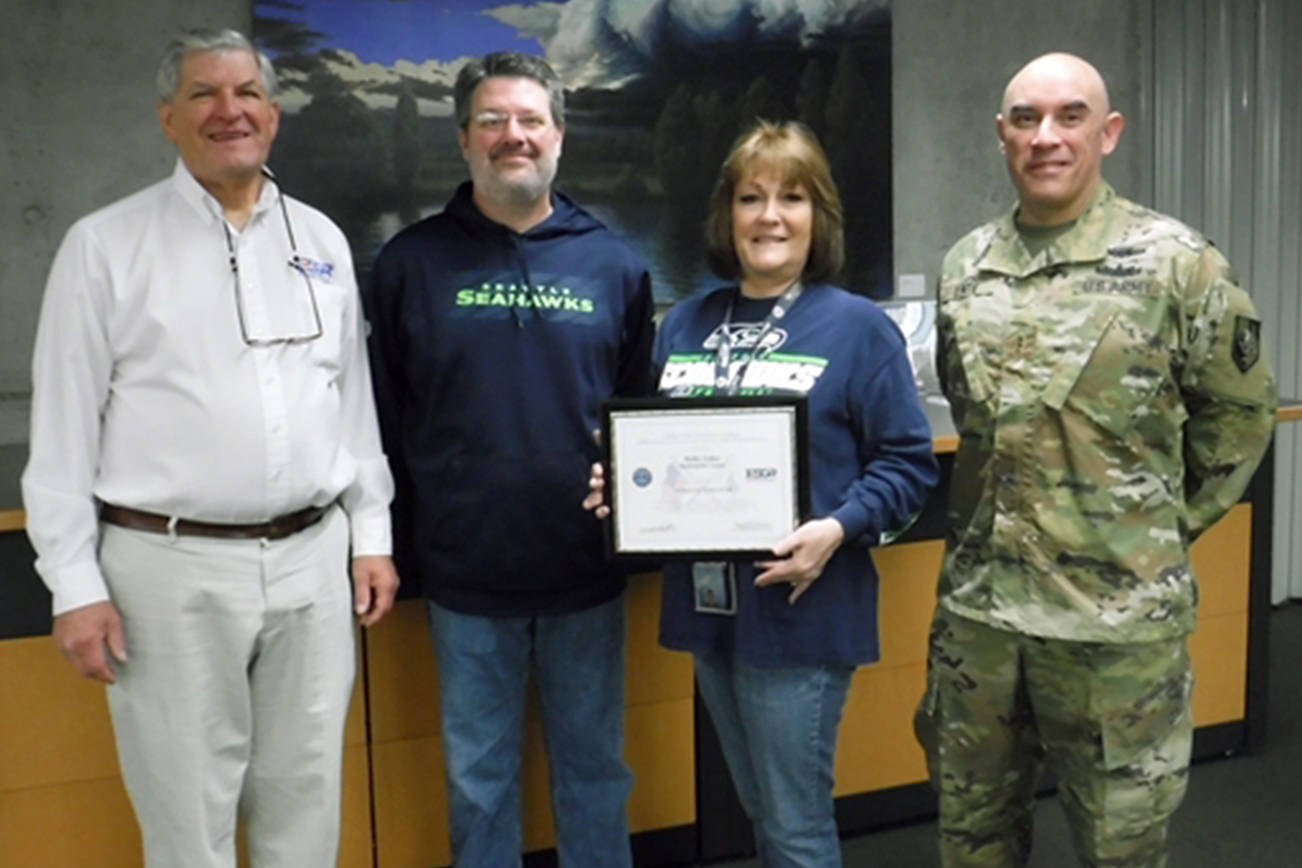 Snohomish County supervisor honored for patriotism