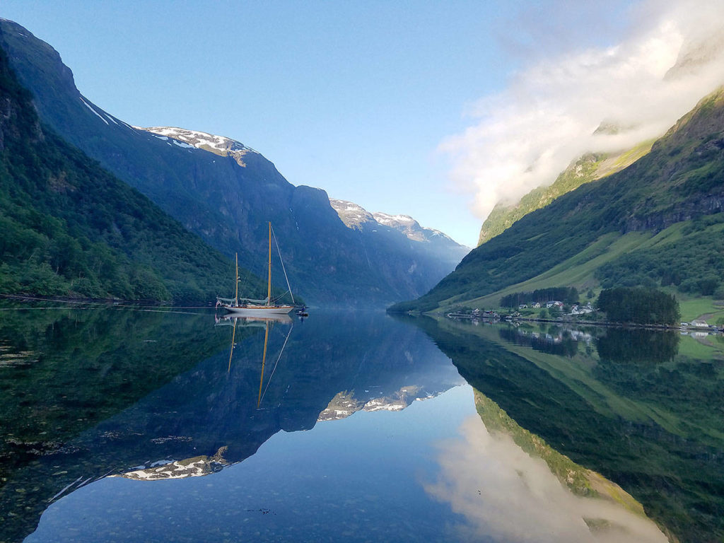 The fjords, which are narrow inlets that can stretch hundreds of miles, are known for their majestic beauty. (Dave Ellingson)