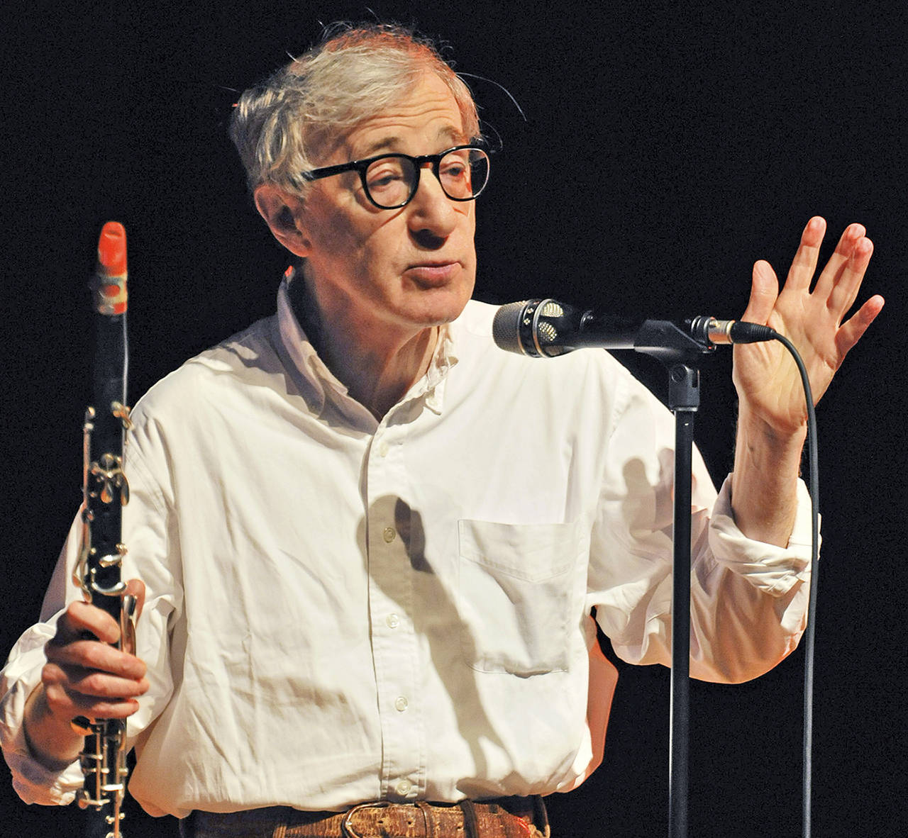 Woody Allen (AP Photo/Britta Engler, file)