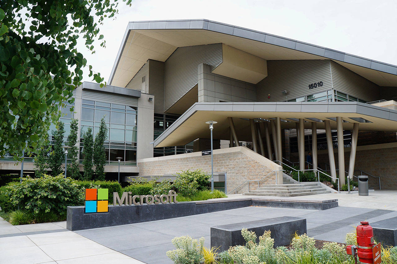 Microsoft is seen here in Redmond. (Jiaqian AirplaneFan)