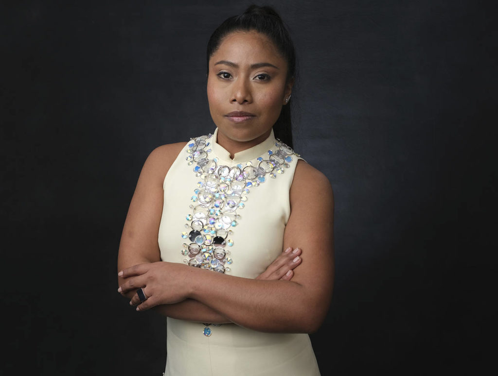 "Yalitza Aparicio is nominated for best actress for her role in ""Roma."" (Chris Pizzello/Invision/AP, File)"