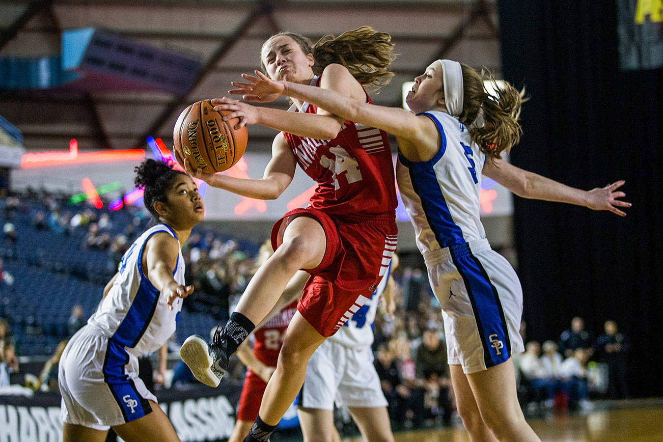 Gallery: Snohomish beats Seattle Prep, advances in state tournament
