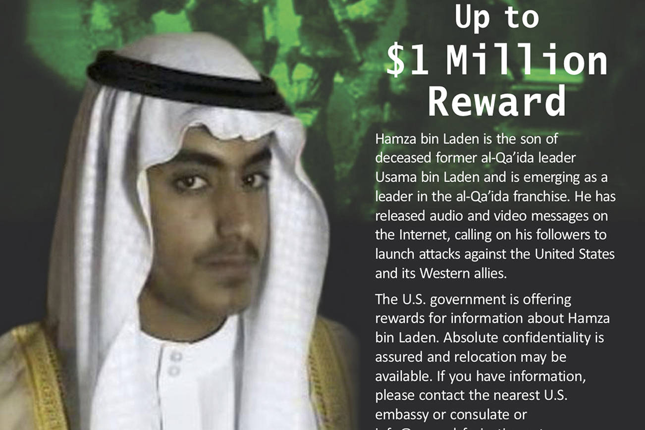 Saudi Arabia revokes citizenship of Osama bin Laden's son