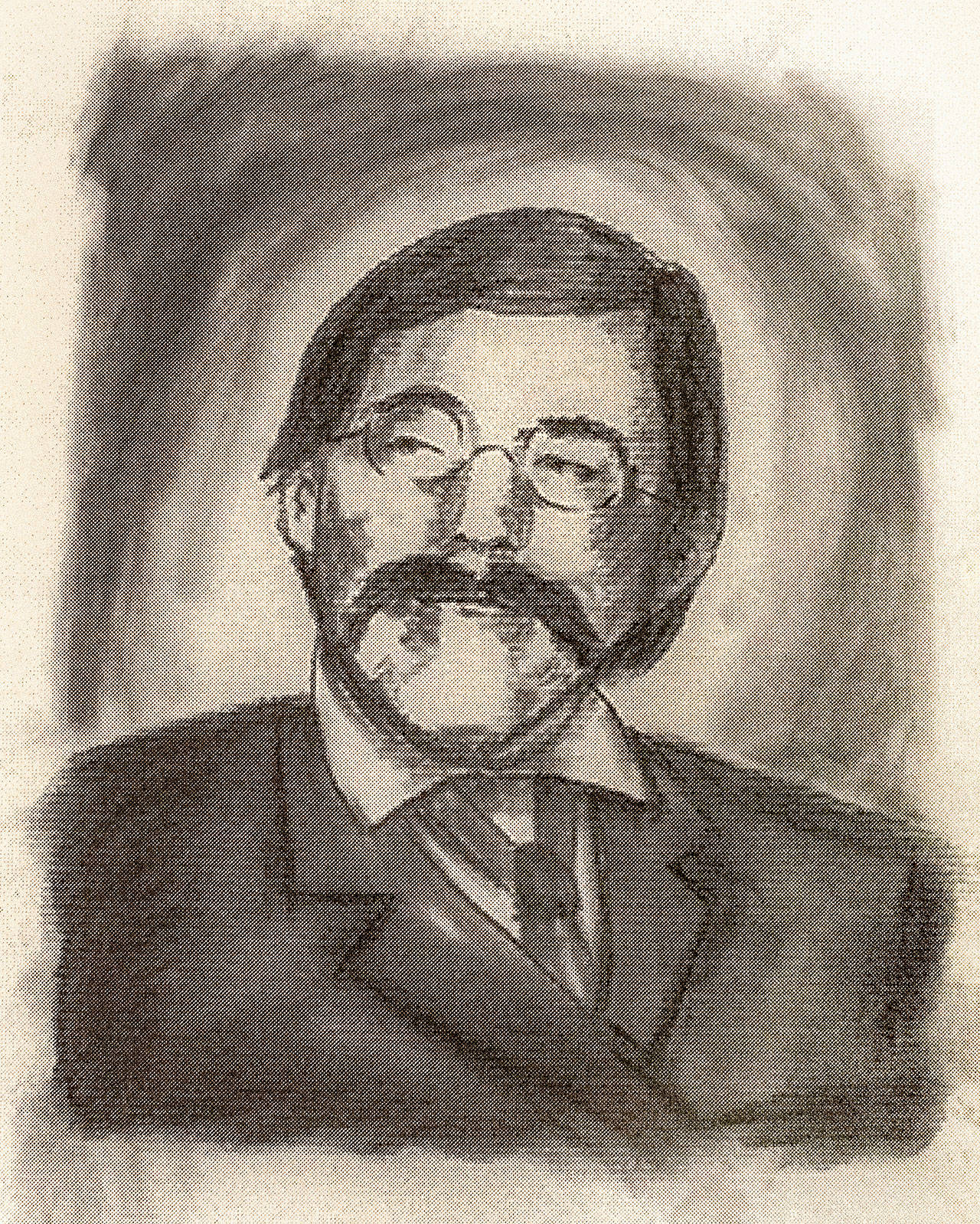 "Drawing of Martin Thomas James Comins, created by Deb Fox, illustrator of ""The Pride of Monte Cristo."""