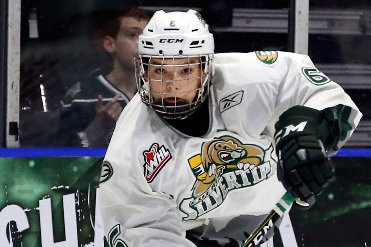 Silvertips notebook: Anderson added as affiliated player