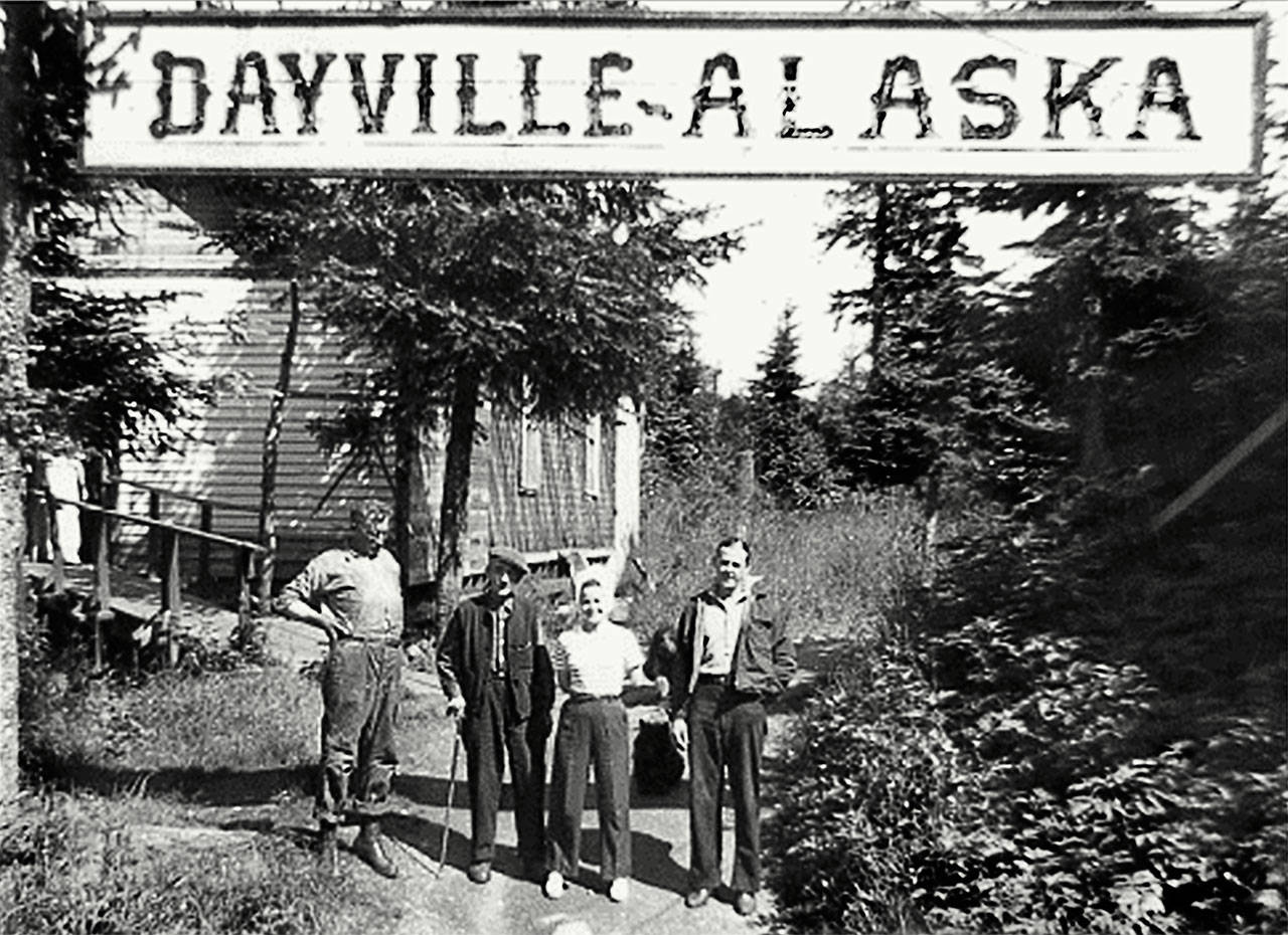 Bob Day's family settled a village on Prince William Sound after coming to Alaska during the Depression from West Virginia. They named it Dayville. (Gloria Day Collection)