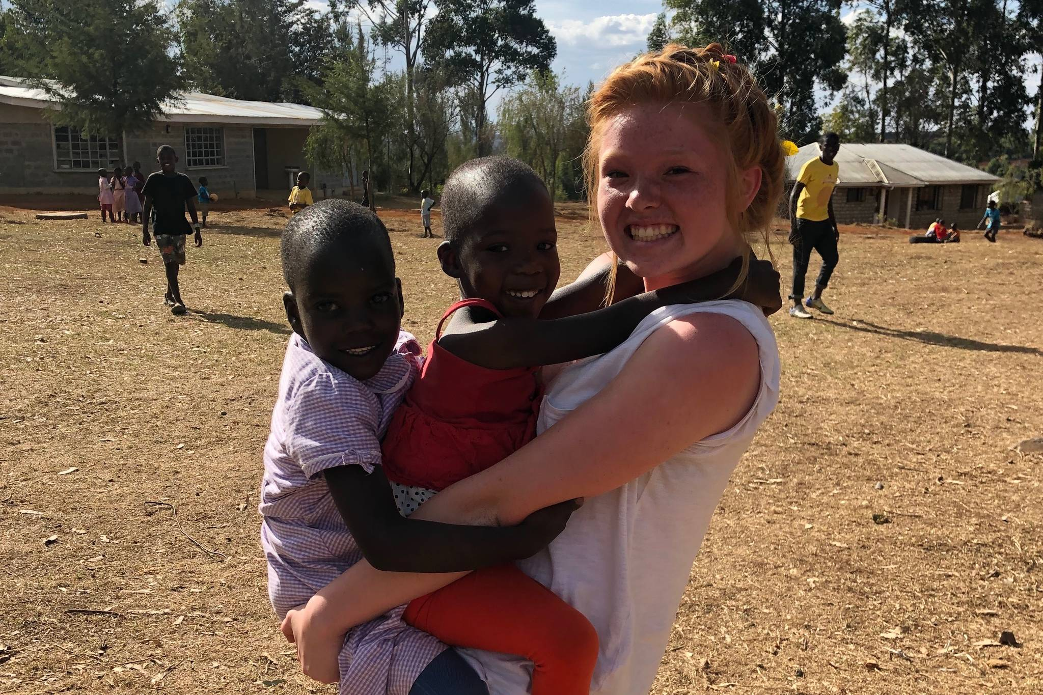 Lakewood softball player travels to Africa for a good cause