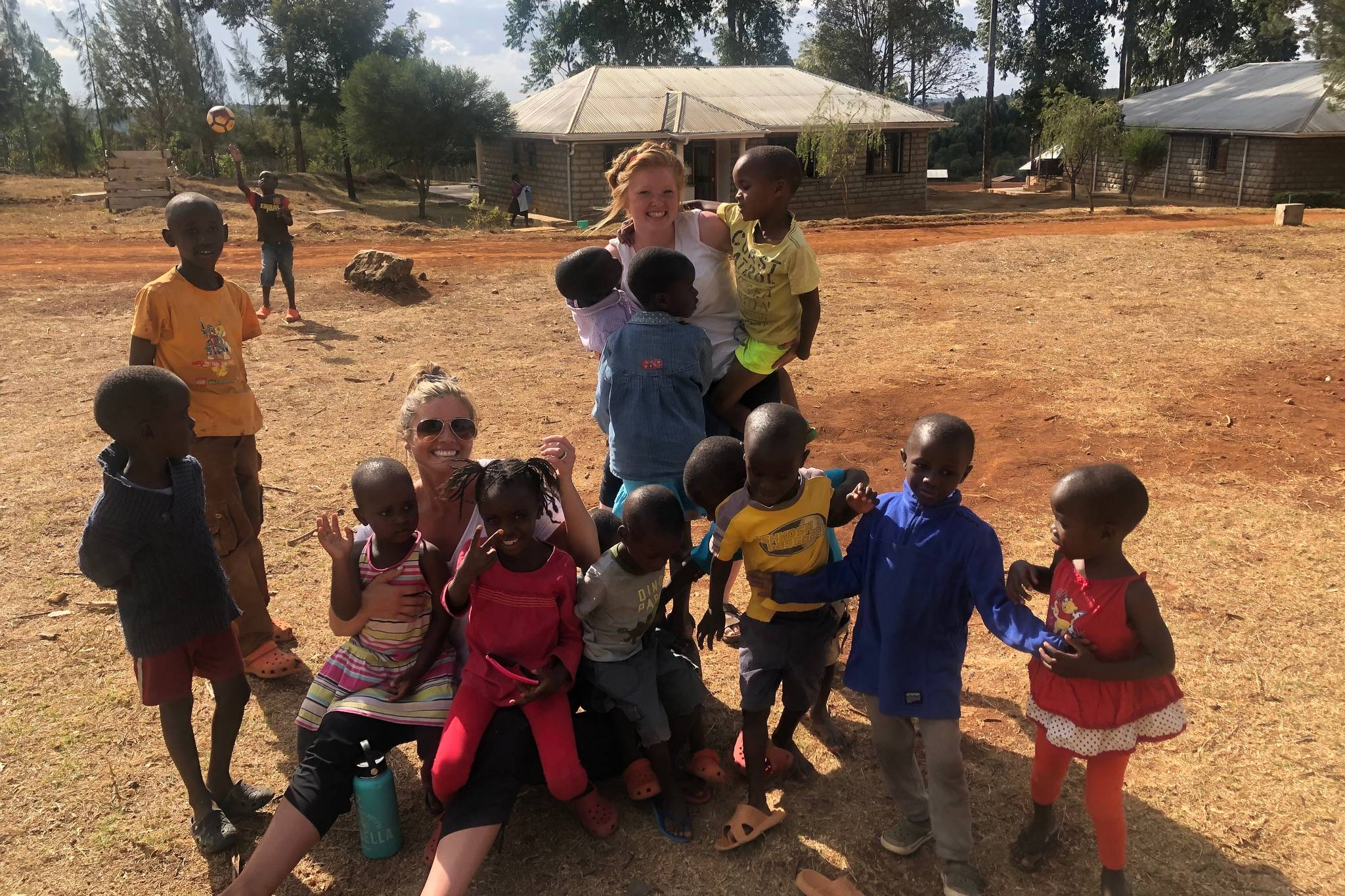 "Brittani Boortz said she has a ""heart"" for Open Arms Village in Kenya, which houses more than 150 displaced children. (Photo by Anna Boortz)"