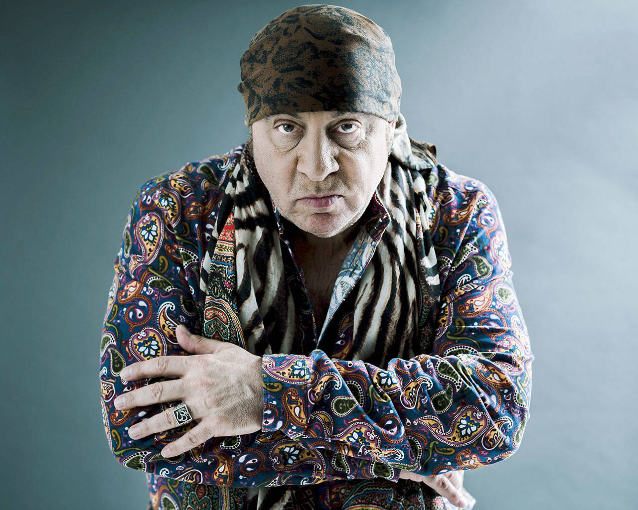 "Steven Van Zandt's new album, ""Summer of Sorcery,"" is a 12-track collection of original material. (Photo by Christopher Smith/Invision/AP)"