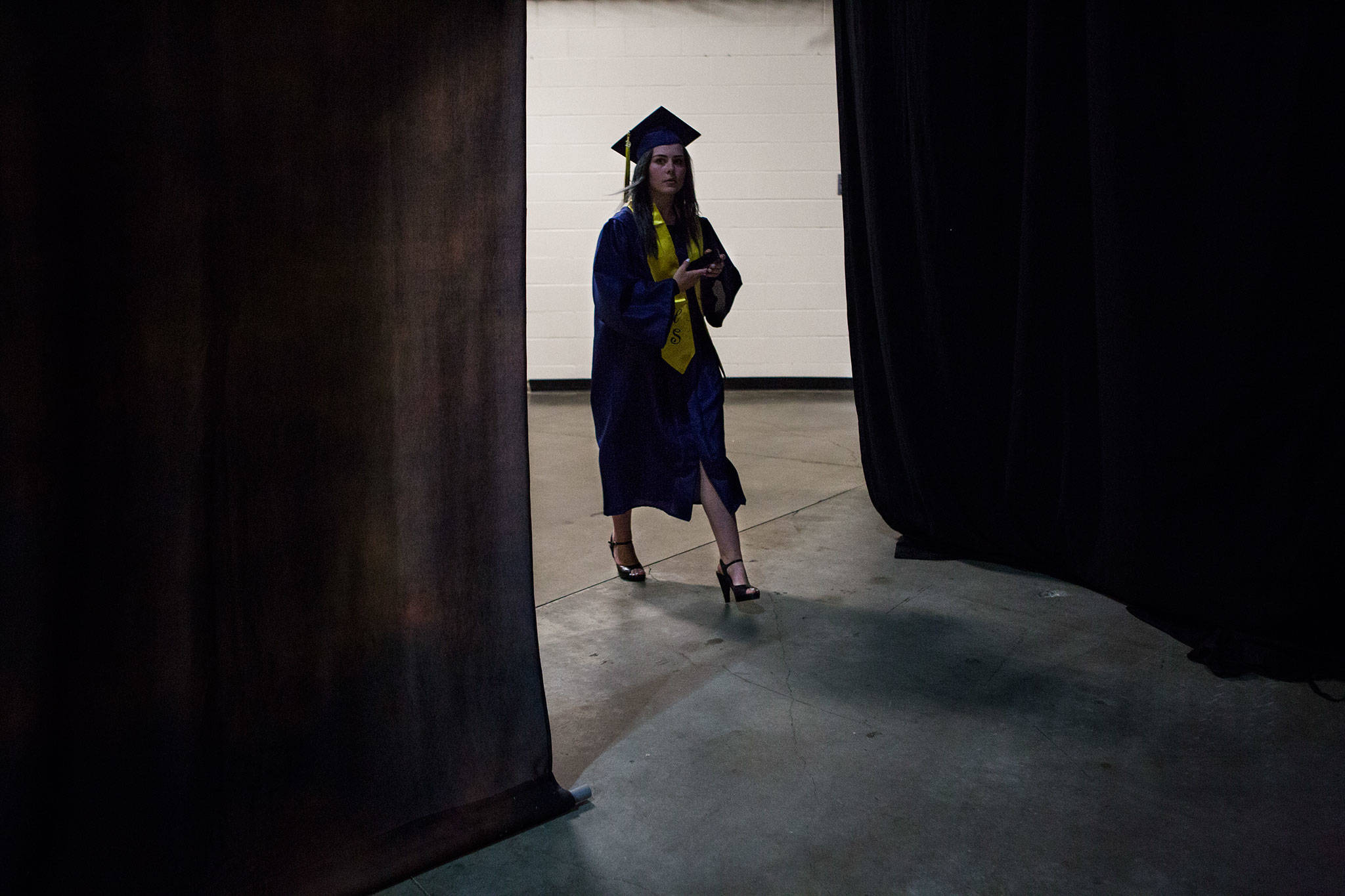 Scenes from Everett High School graduation at Angel of the Winds Arena on Saturday, June 15, 2019 in Everett, Wash. (Olivia Vanni / The Herald)