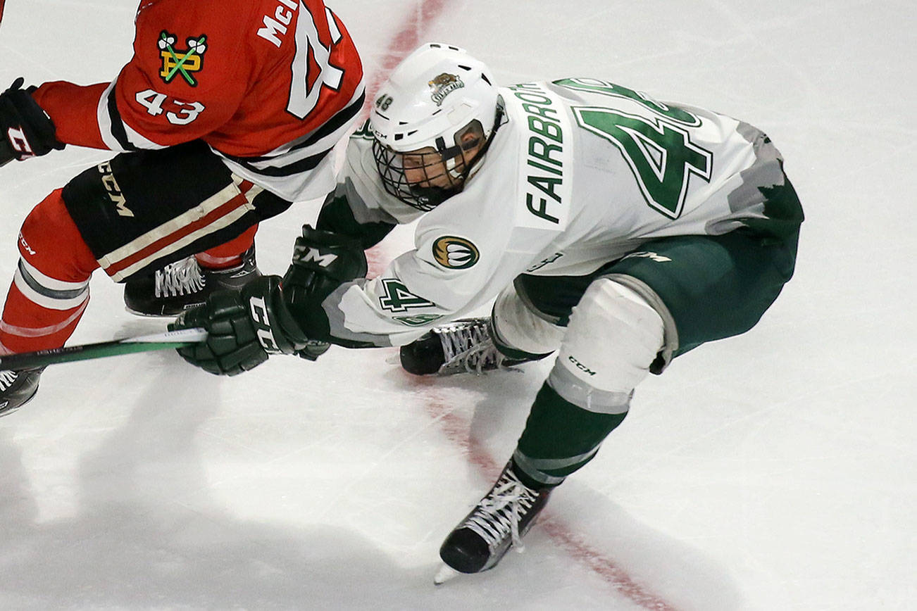 Tips' Fairbrother awaiting call after climbing NHL draft boards