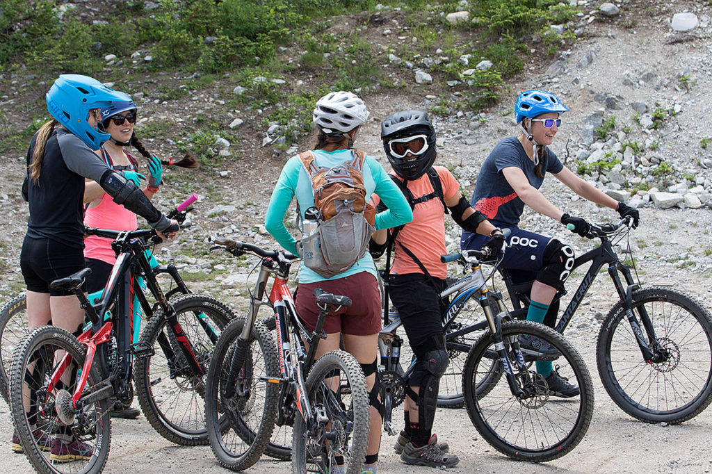 Stevens Pass will host two events encouraging women BMX bike riders to venture up the mountain. (Vail Resorts)