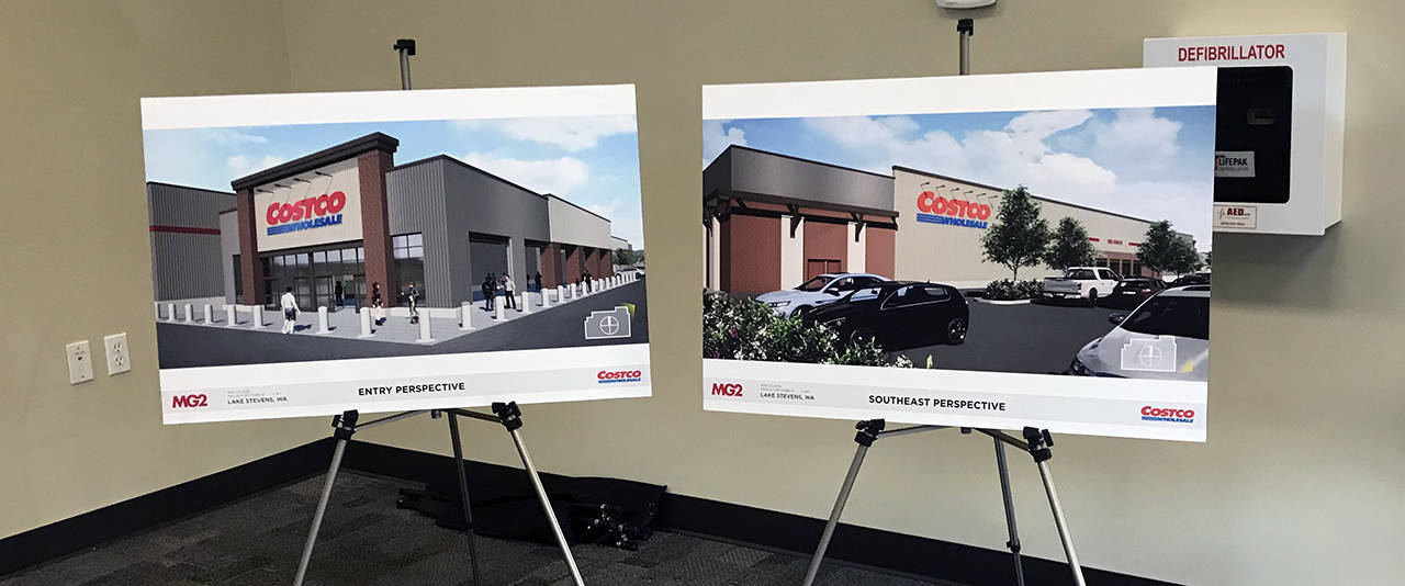 Costco's plans to build a store on the southwest corner of Highway 9 and 20th Street SE include a 170,000-square-foot warehouse store, 850 parking spaces and a 30-pump gas station on nearly 37 acres. (Stephanie Davey / The Herald)