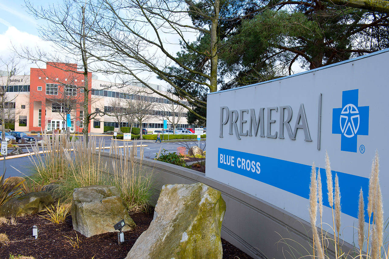 Premera Blue Cross of Mountlake Terrace. (Contributed photo)